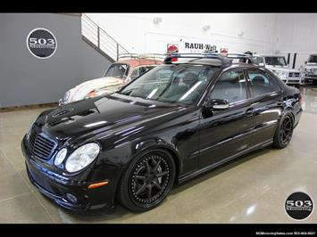 2006 Mercedes-Benz E55 AMG; Immaculate Black/Black w/ Only 35k Miles! Sedan