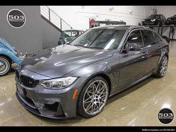 2017 BMW M3 Loaded Competition Package w/ $87k MSRP! Sedan