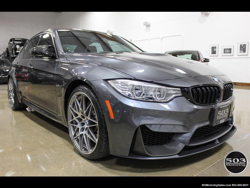 2017 bmw m3 loaded competition package w 87k msrp. Black Bedroom Furniture Sets. Home Design Ideas