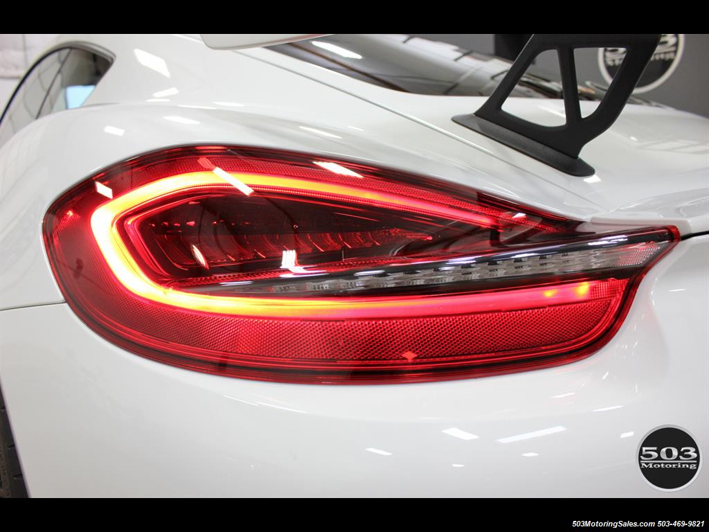 2016 Porsche Cayman GT4; White w/ Full Bucket Seats & 3k Miles! - Photo 27 - Beaverton, OR 97005