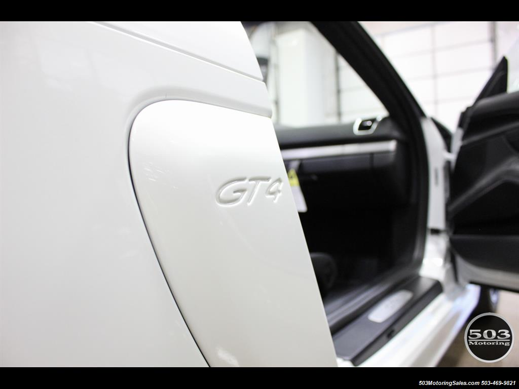 2016 Porsche Cayman GT4; White w/ Full Bucket Seats & 3k Miles! - Photo 26 - Beaverton, OR 97005
