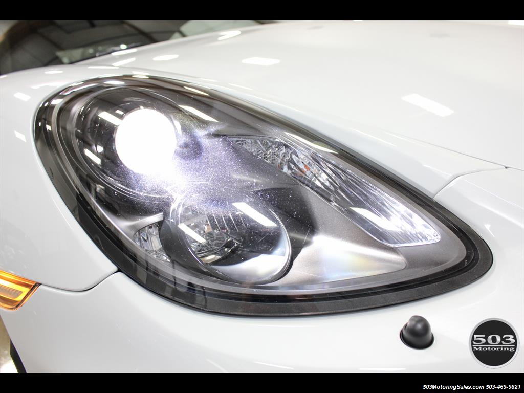 2016 Porsche Cayman GT4; White w/ Full Bucket Seats & 3k Miles! - Photo 18 - Beaverton, OR 97005