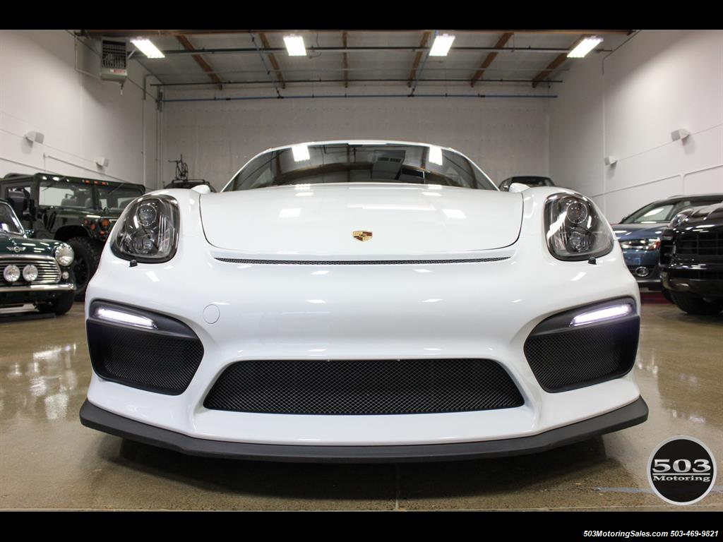 2016 Porsche Cayman GT4; White w/ Full Bucket Seats & 3k Miles! - Photo 10 - Beaverton, OR 97005