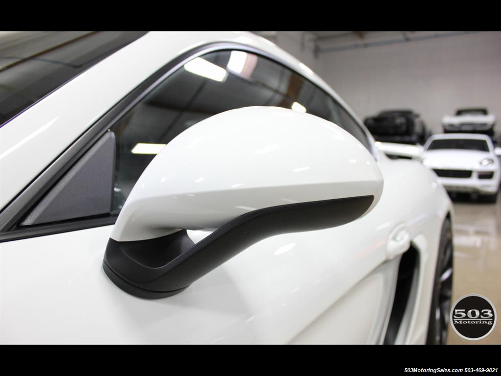 2016 Porsche Cayman GT4; White w/ Full Bucket Seats & 3k Miles! - Photo 23 - Beaverton, OR 97005
