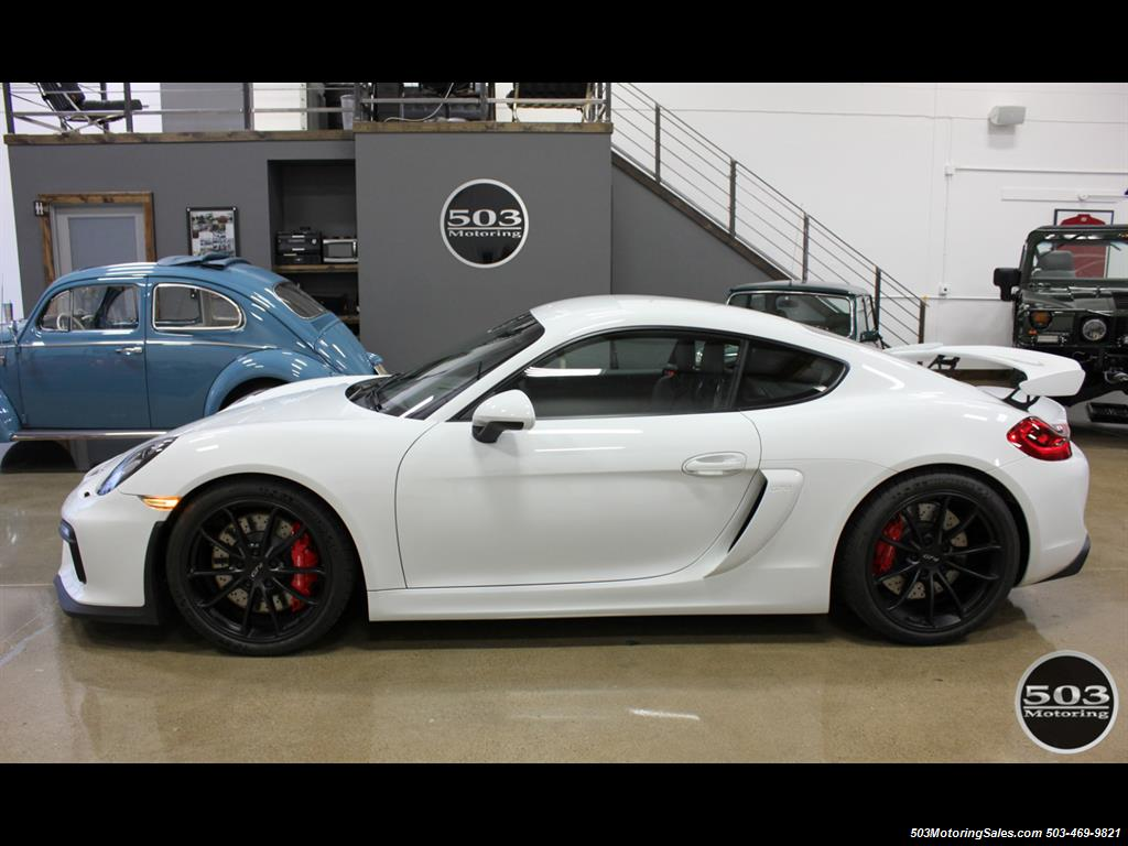 2016 Porsche Cayman GT4; White w/ Full Bucket Seats & 3k Miles! - Photo 2 - Beaverton, OR 97005