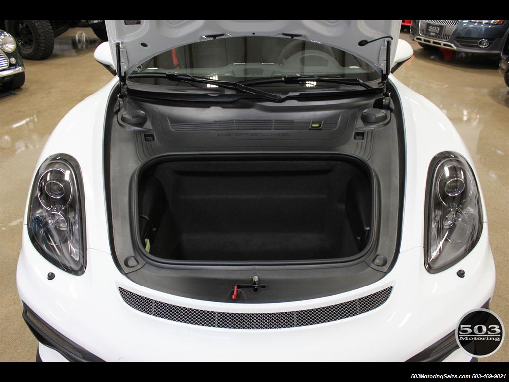 2016 Porsche Cayman GT4; White w/ Full Bucket Seats & 3k Miles! - Photo 51 - Beaverton, OR 97005