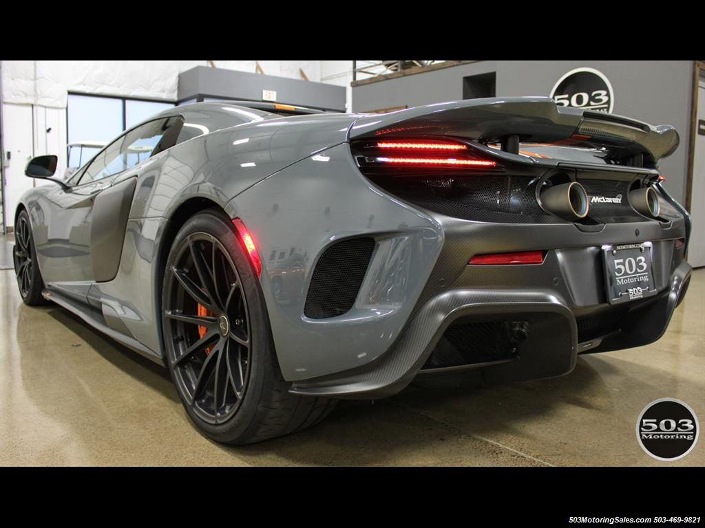 2016 McLaren 675LT Spider; Perfectly Specced Chicane Gray One Owner! - Photo 3 - Beaverton, OR 97005
