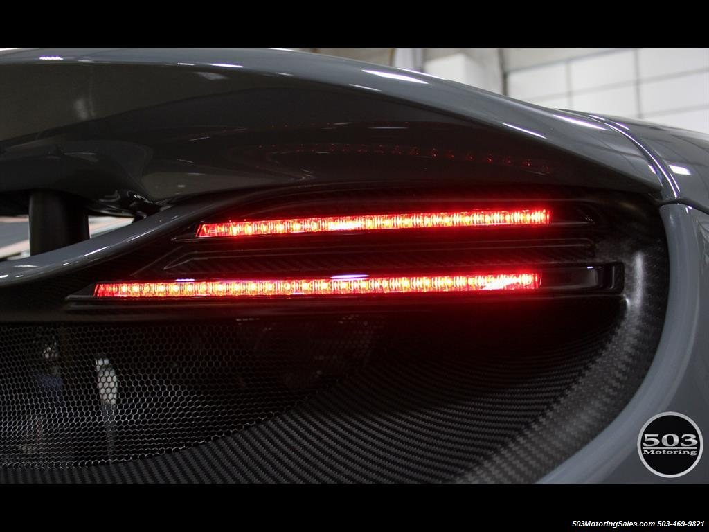 2016 McLaren 675LT Spider; Perfectly Specced Chicane Gray One Owner! - Photo 32 - Beaverton, OR 97005