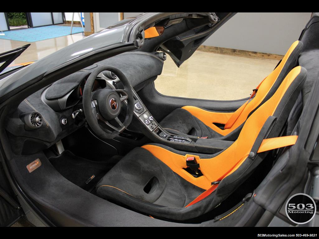 2016 McLaren 675LT Spider; Perfectly Specced Chicane Gray One Owner! - Photo 46 - Beaverton, OR 97005
