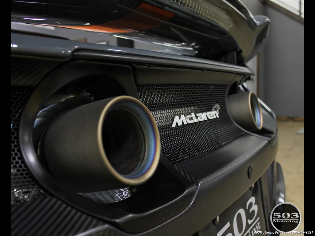 2016 McLaren 675LT Spider; Perfectly Specced Chicane Gray One Owner! - Photo 31 - Beaverton, OR 97005