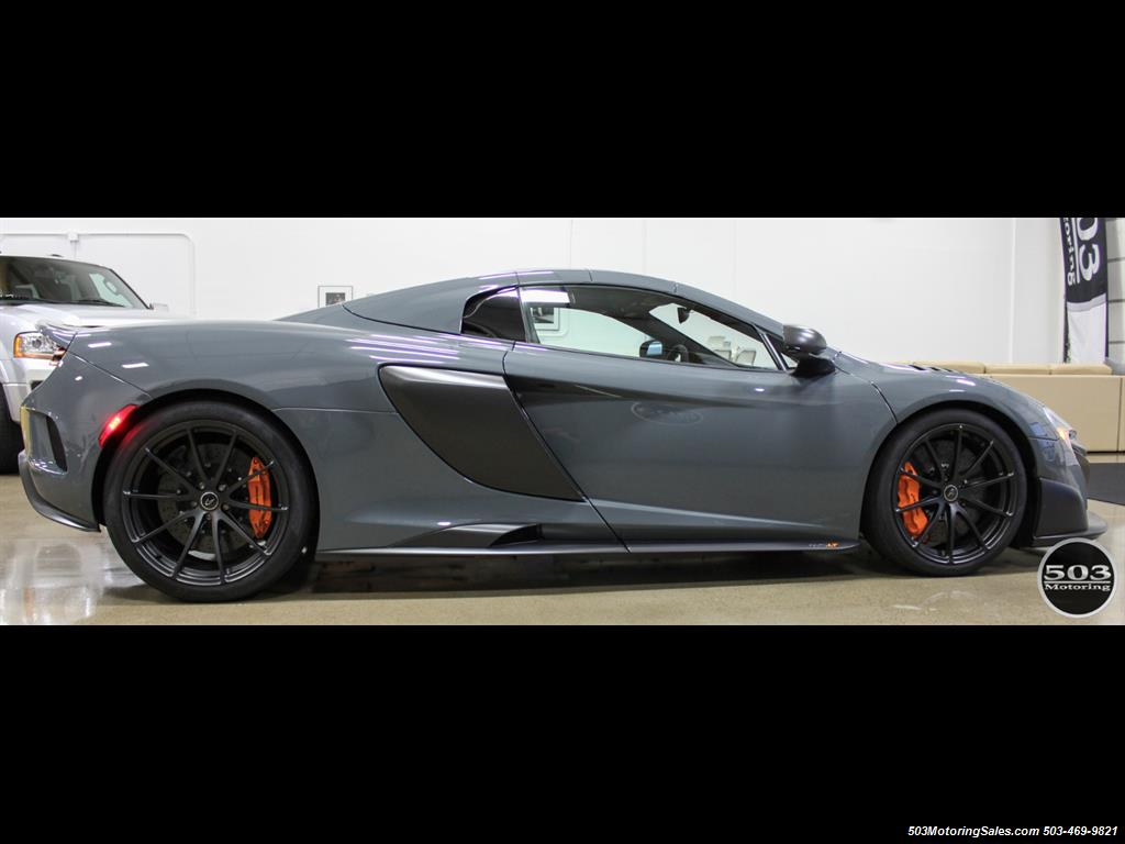 2016 McLaren 675LT Spider; Perfectly Specced Chicane Gray One Owner! - Photo 6 - Beaverton, OR 97005