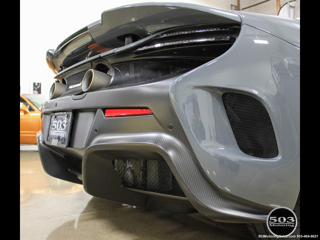 2016 McLaren 675LT Spider; Perfectly Specced Chicane Gray One Owner! - Photo 29 - Beaverton, OR 97005