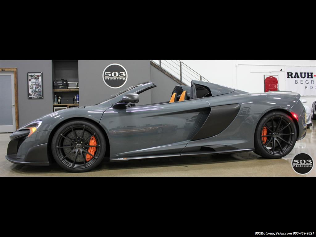 2016 McLaren 675LT Spider; Perfectly Specced Chicane Gray One Owner! - Photo 12 - Beaverton, OR 97005
