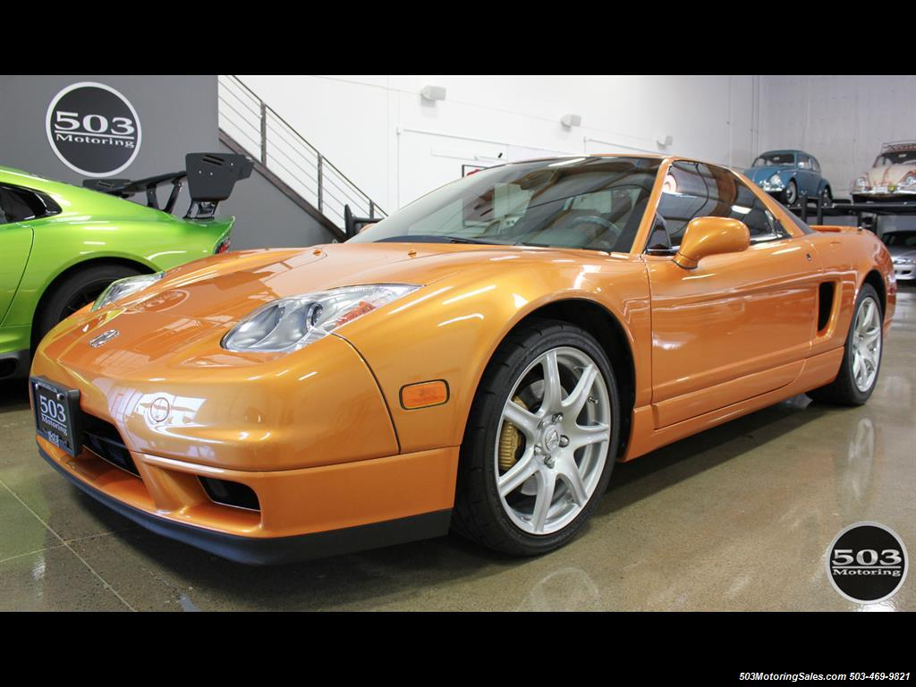 2004 Acura NSX One Owner Imola Orange w/ 15k Miles! - Photo 1 - Beaverton, OR 97005