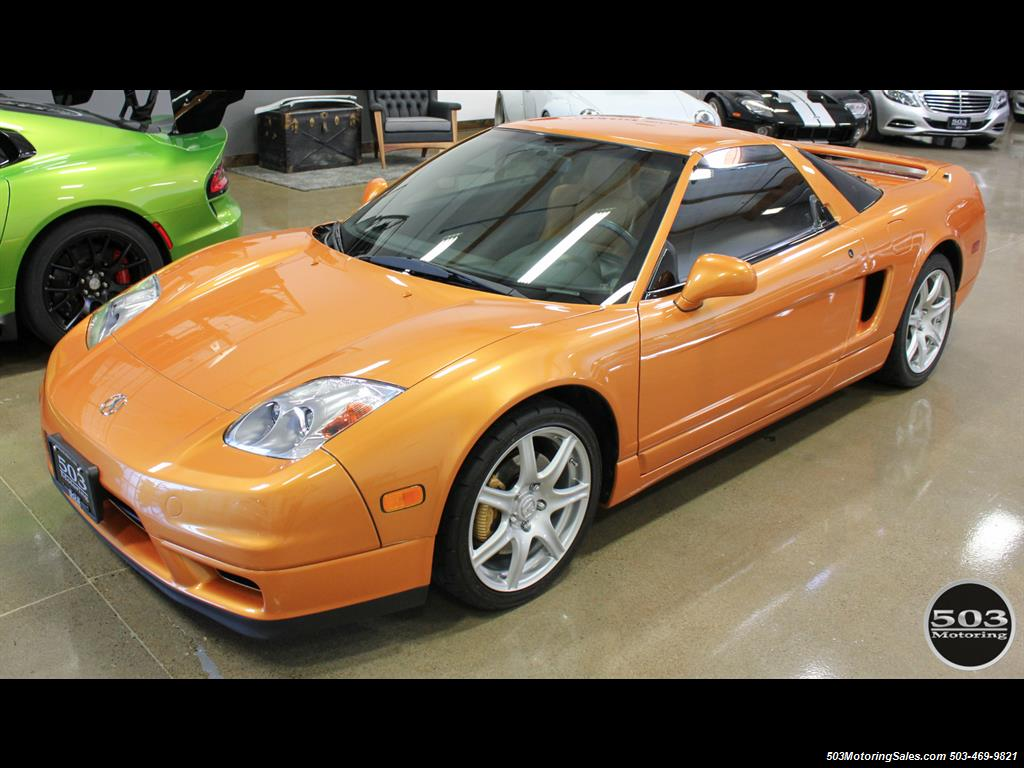 2004 Acura NSX One Owner Imola Orange w/ 15k Miles! - Photo 2 - Beaverton, OR 97005