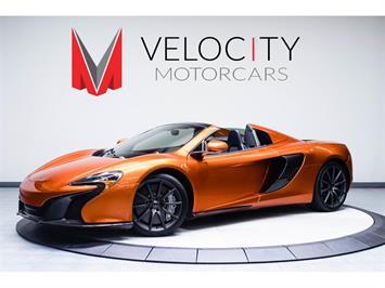 2015 McLaren 650S Spider Convertible