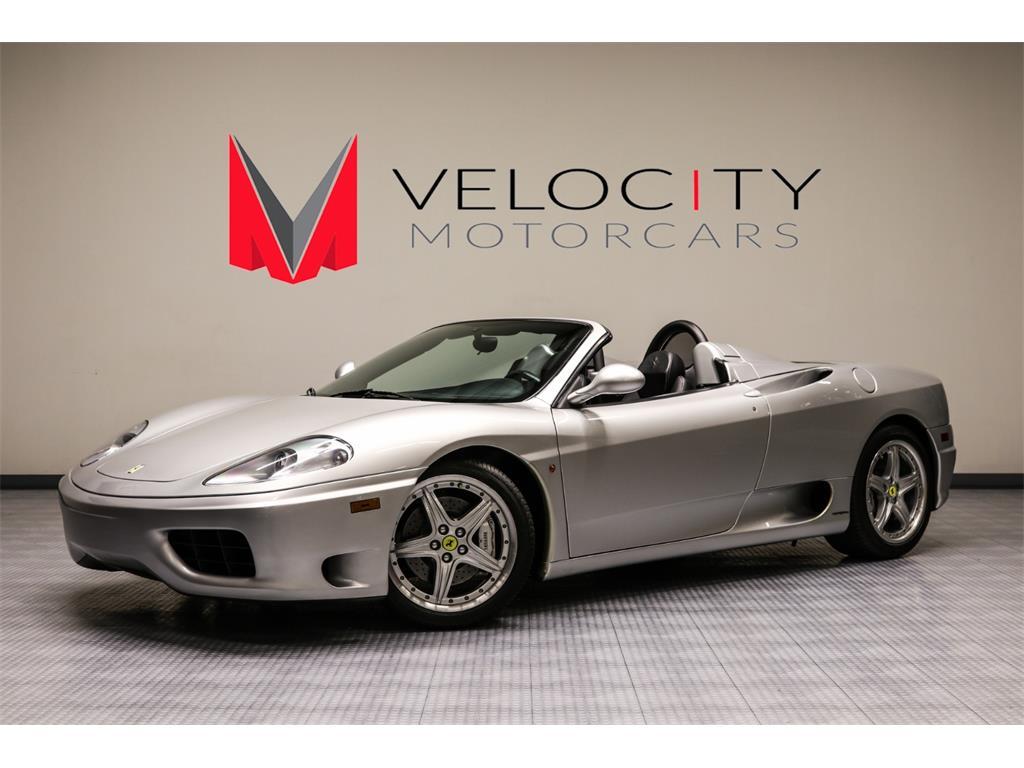 4 Door Convertible >> Velocity Motorcars - Photos for 2004 Ferrari 360 Spider
