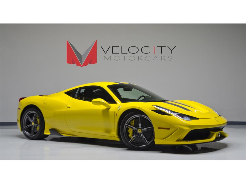 2014 ferrari 458 speciale photo 2 nashville tn 37217 - Ferrari 2014 Yellow