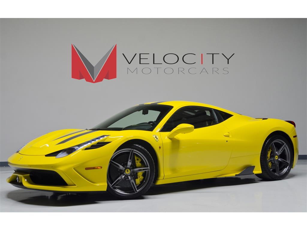 2014 ferrari 458 speciale photo 1 nashville tn 37217 - Ferrari 2014 Yellow
