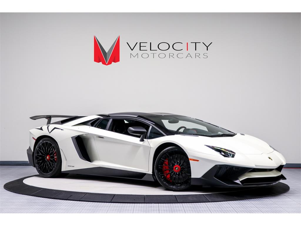 2017 Lamborghini Aventador Lp 750 4 Sv Roadster For Sale