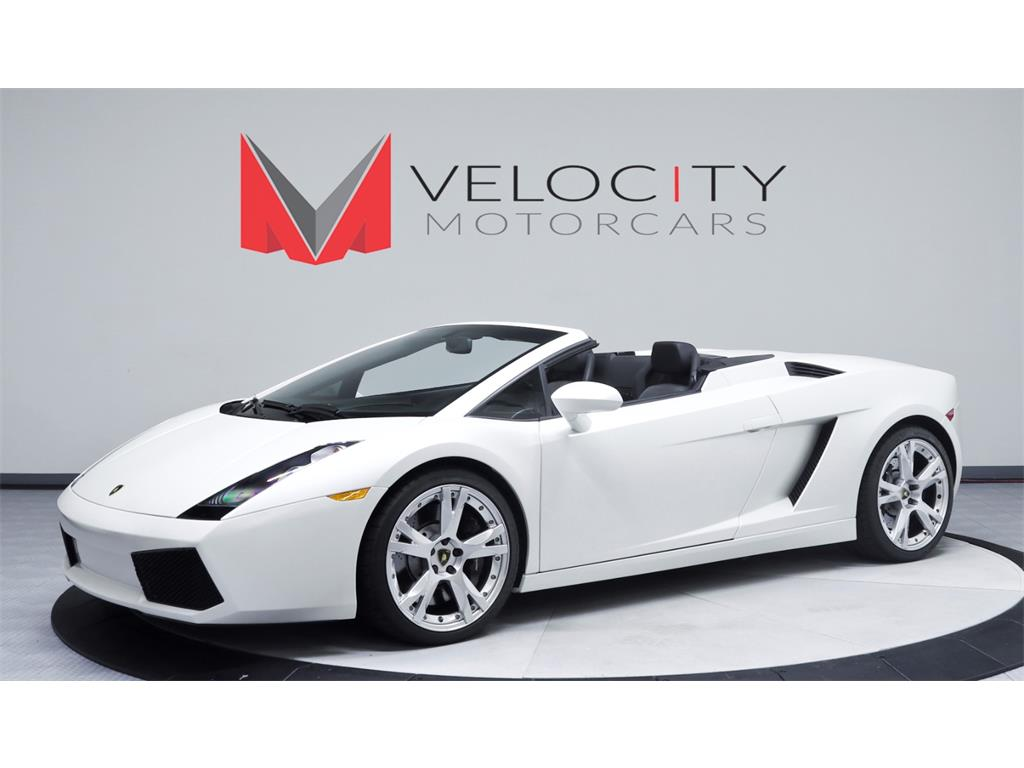 2008 Lamborghini Gallardo Spyder - Photo 1 - Nashville, TN 37217