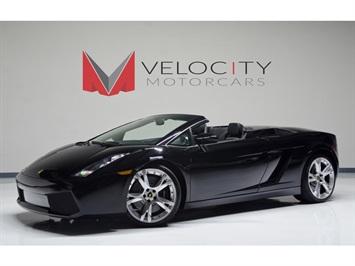 2007 Lamborghini Gallardo Spyder Convertible