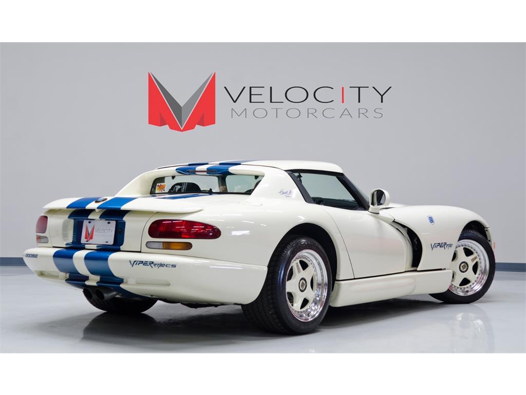 Velocity Motorcars Photos For 1996 Dodge Viper Carroll