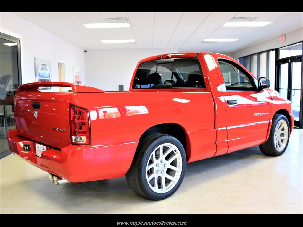 2005 dodge ram pickup 1500 srt 10 2dr regular cab. Black Bedroom Furniture Sets. Home Design Ideas