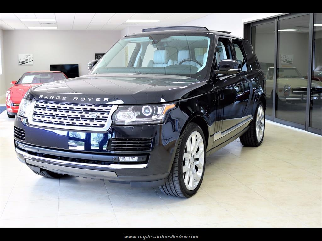 2015 Land Rover Range Rover Supercharged - Photo 1 - Fort Myers, FL 33967