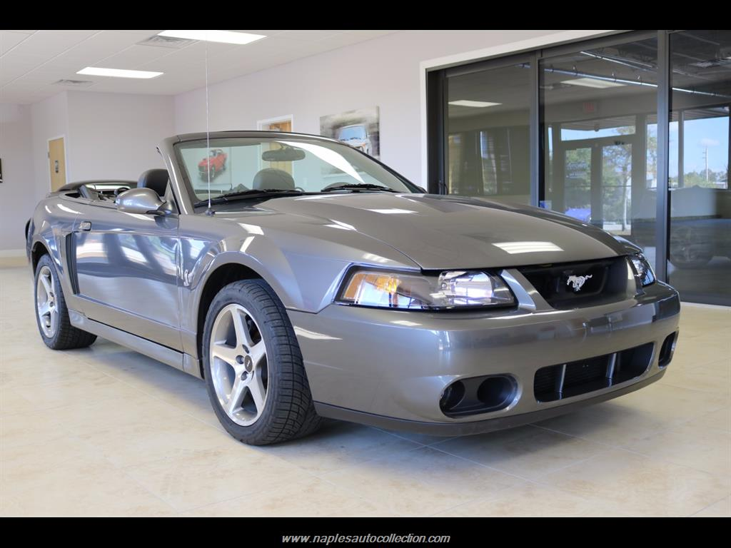 2003 ford mustang svt cobra convertible 2 door ebay. Black Bedroom Furniture Sets. Home Design Ideas