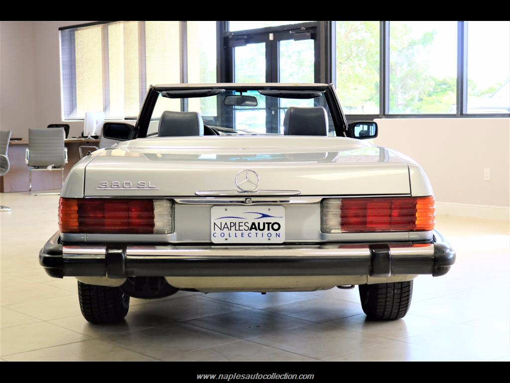 1984 Mercedes-Benz 380-Class 380 SL - Photo 6 - Fort Myers, FL 33967