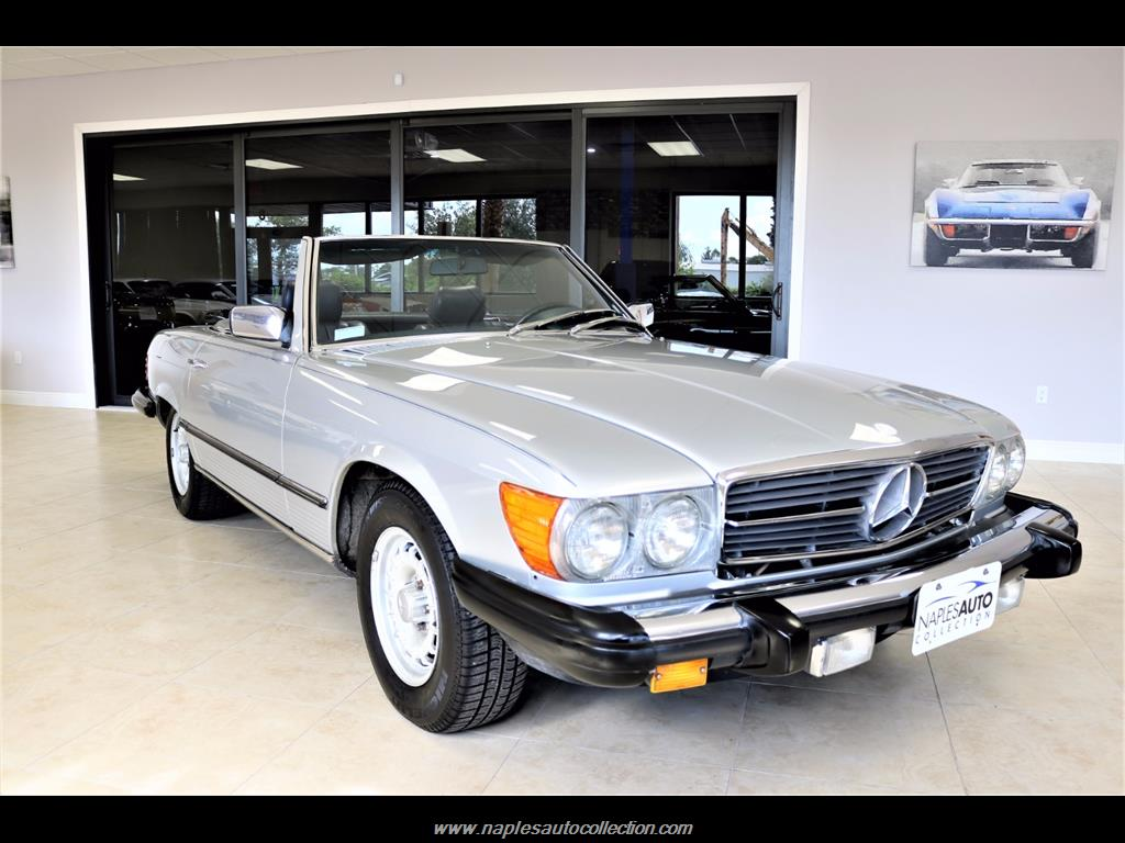 1984 Mercedes-Benz 380-Class 380 SL - Photo 4 - Fort Myers, FL 33967
