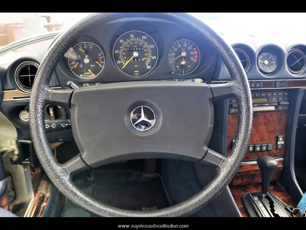 1984 Mercedes-Benz 380-Class 380 SL - Photo 27 - Fort Myers, FL 33967
